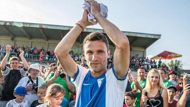 David Lafata oblékl dres Olešníku. S profesionální kariérou se již definitivně rozloučil.