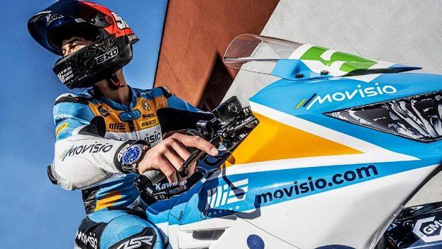 Motocyklový závodník Oliver König pojede v Mostě v nových barvách.