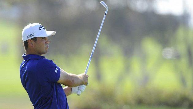 Golfista Gary Woodland během Farmers Insurance Open.