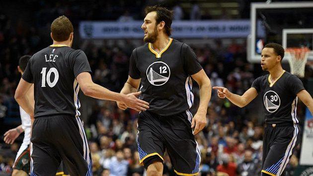 Warriors ovládli Západní konferenci NBA.