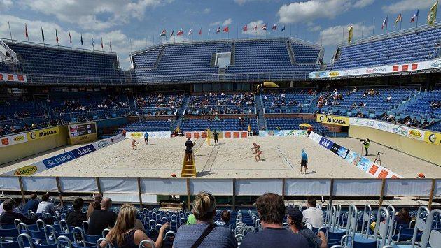 Turnaj Světového okruhu žen v plážovém volejbalu v Praze - ilustrační snímek.