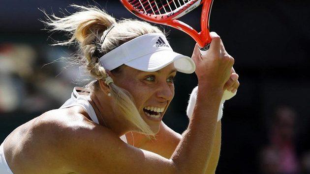 Získá Angelique Kerberová ve Wimbledonu druhou grandslamovou trofej roku?