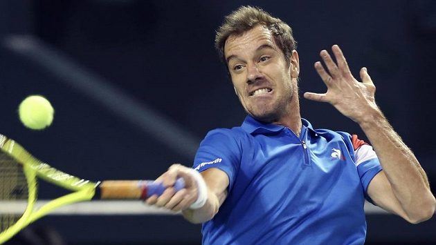 Francouzský tenista Richard Gasquet.