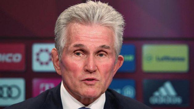 (Staro)nový kouč fotbalistů Bayernu Jupp Heynckes.