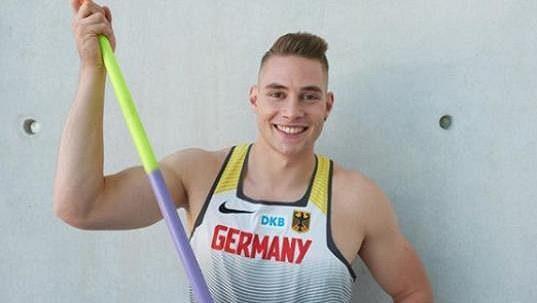 Německý oštěpar Johannes Vetter nakonec na Zlaté tretře závodit nebude.