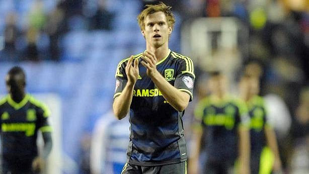Tomáš Kalas v dresu Middlesbrough.