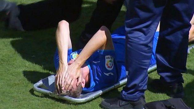 Fotbalista Getafe Jakub Jankto kvůli zranění nedohrál sobotní utkání španělské ligy s Vallecanem.