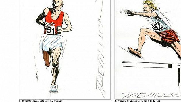 Emil Zátopek na stránkách Daily Mailu
