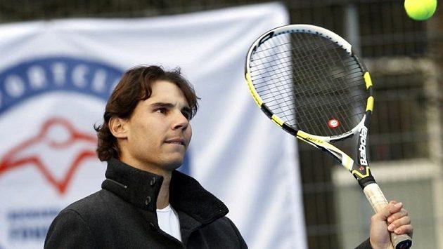Tenista Rafael Nadal od svého návratu na kurty nečeká okamžitě zázraky.