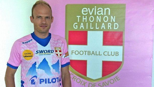 David Jarolím v dresu francouzského Evianu.