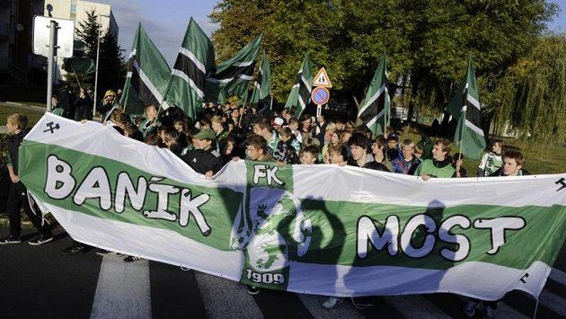 Fotbaloví fanoušci Baníku Most