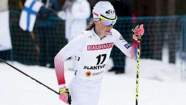 Česká běžkyně na lyžích Kateřina Smutná