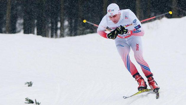 Běžec na lyžích Lukáš Bauer na archivním snímku.