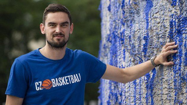 Český basketbalista Tomáš Satoranský