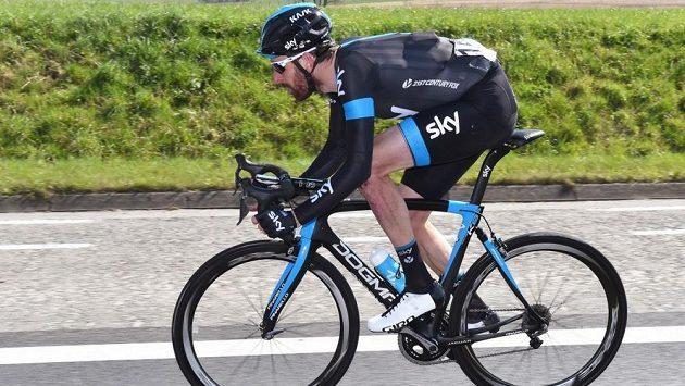 Britský cyklista Sir Bradley Wiggins.