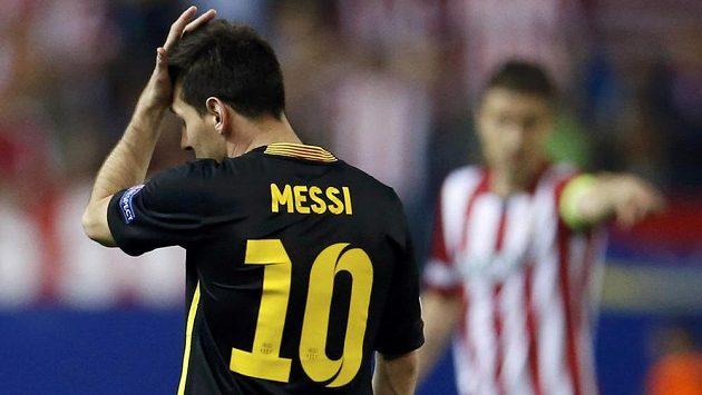 Lionel Messi si už v letošní sezóně Ligy mistrů nezahraje.