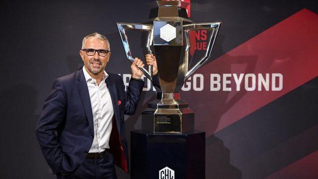Šéf hokejové Ligy mistrů Martin Baumann.