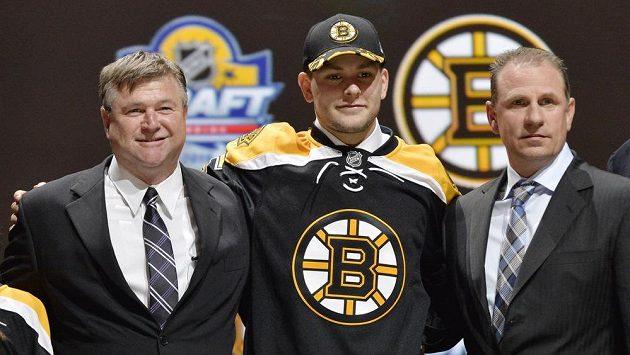 Obránce Jakub Zbořil jako třináctka draftu patří Bostonu.