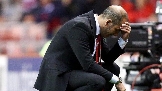 Zklamaný trenér Sunderlandu Paolo Di Canio