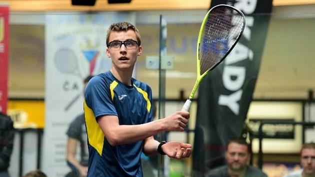 Český squashový talent - Viktor Byrtus.