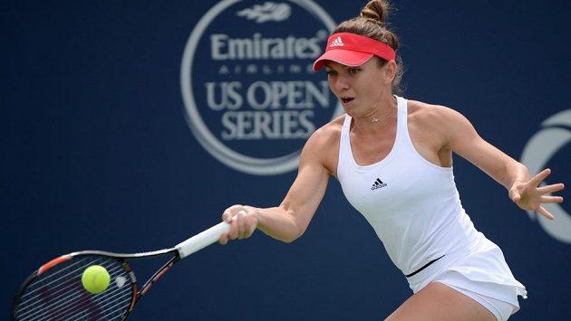 Rumunská tenistka Simona Halepová si na Rogers Cupu v Montrealu zahraje o titul.