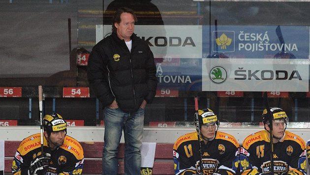 Trenér Petr Rosol na archivním snímku.
