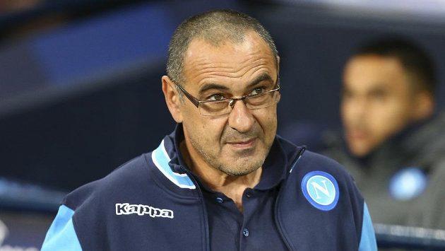 Fotbalový kouč Maurizio Sarri před příchodem do Chelsea trénoval Neapol.