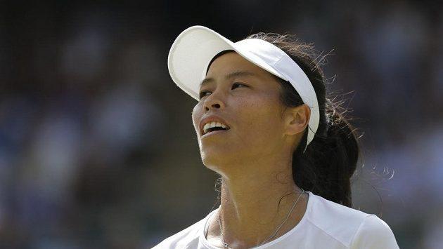 Sie Šu-wej z Tchaj-wanu udolala ve Wimbledonu světovou jedničku Simonu Halepovou z Rumunska.