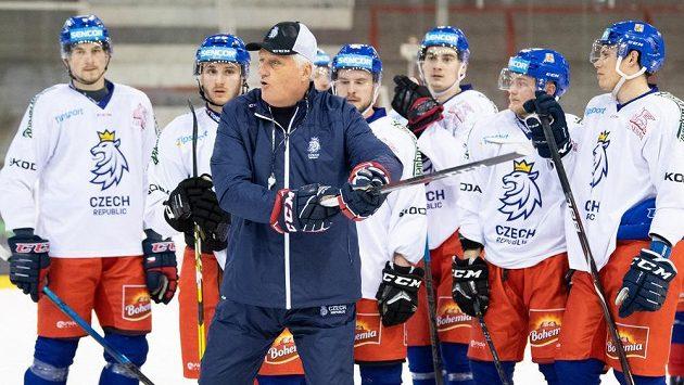 Trenéra Miloše Říhu čeká na MS na Slovensku premiéra na střídačce národního týmu.