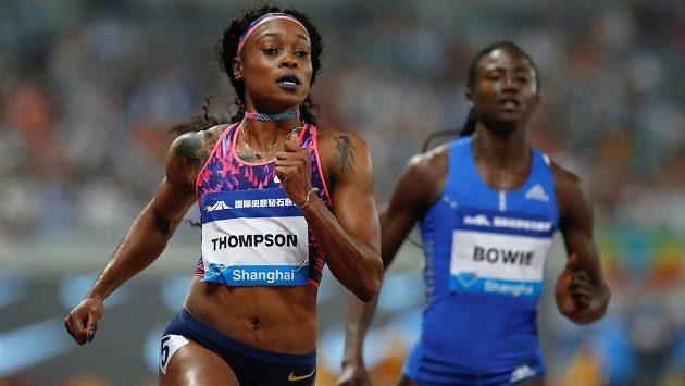 Skvělý výkon předvedla na mítinku v Šanghaji na stovce Jamajčanka Elaine Thompsonová, která dosáhla v mírném protivětru času 10,78 sekundy.