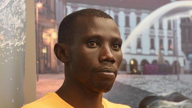Keňský běžec Stanley Kipleting Biwott na olomouckého půlmaratonu.