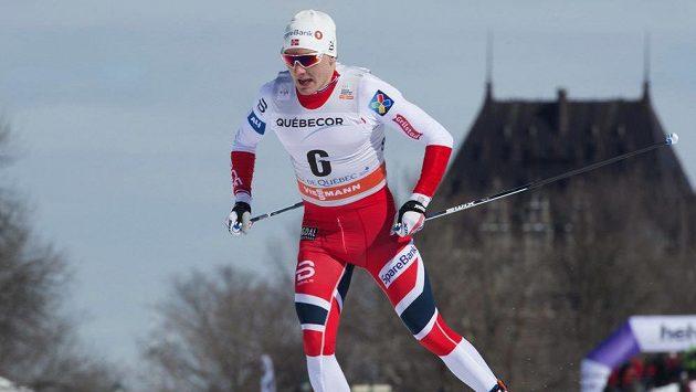 Finn Haagen Krogh z Norska při sprintech v Québecu - ilustrační foto.