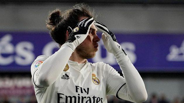Hvězda Realu Gareth Bale.