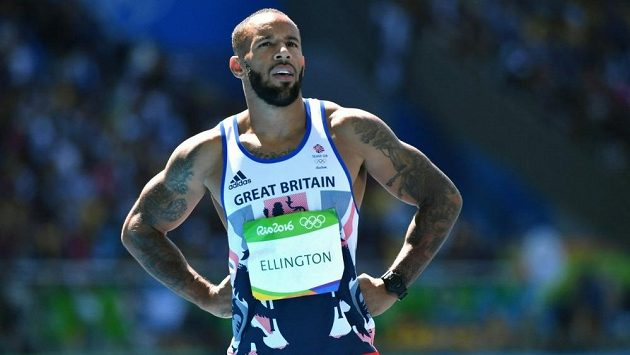 James Ellington na olympiádě v Riu de Janeiro.