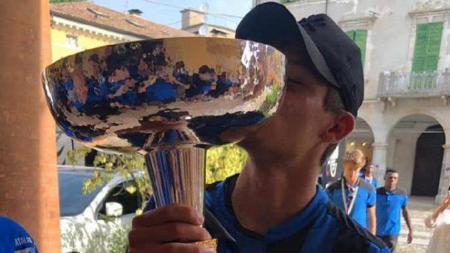 Český fotbalový talent David Heidenreich získal v dresu Atalanty Bergamo titul v italské soutěži Primavera.