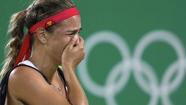 Portorická tenistka Mónica Puigová