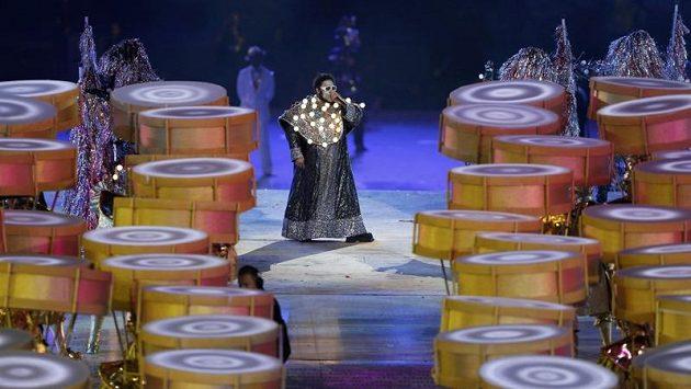 Prezentace Ria na londýnském Olympijském stadiónu se nesla v rytmu samby.