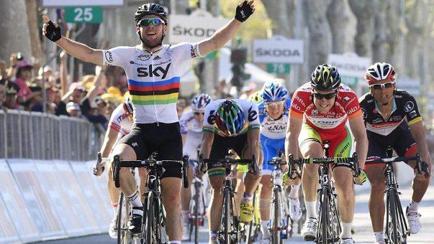 Mark Cavendish znovu osvědčil v 5. etapě Gira d´Italia své spurtérské kvality.