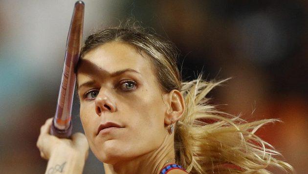 Nikola Ogrodníková ve finále mistrovství světa.