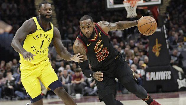 Největší hvězda NBA LeBron James.