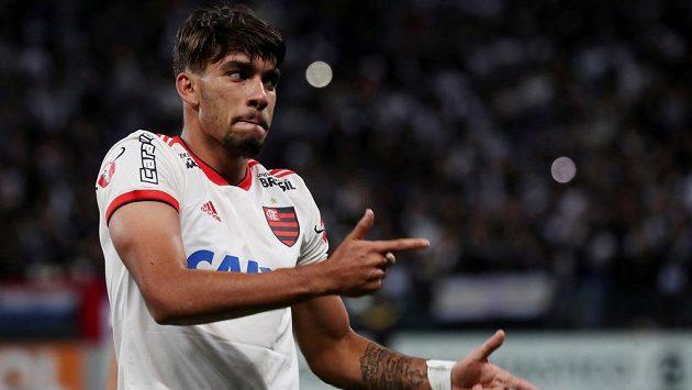 Brazilský fotbalový reprezentant Lucas Paquetá