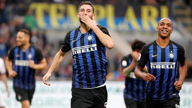 SeRoberto Gagliardini se postaral o dvě branky Interu