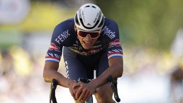 Nizozemský cyklista Mathieu van der Poel vyhrál druhou etapu Tour