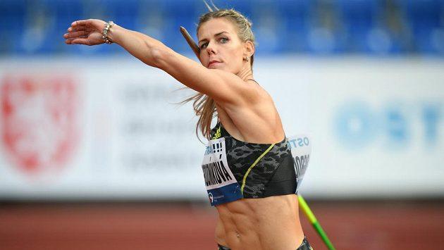 Oštěpařka Nikola Ogrodníková skončila druhá na mítinku Zlatá tretra.