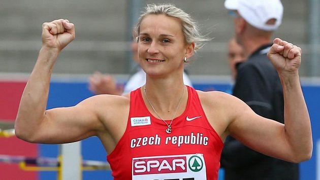 Radost Barbory Špotákové na mistrovství Evropy družstev v Braunschweigu.