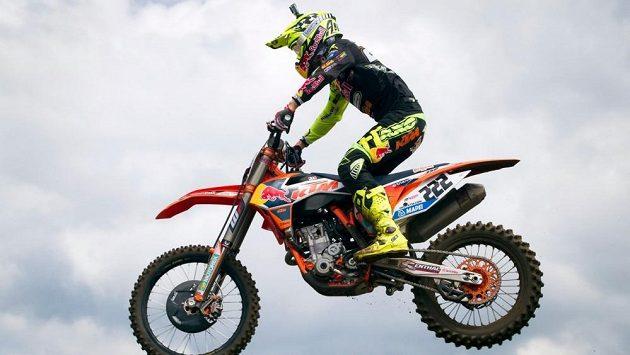 Antonio Cairoli na archivním snímku při závodu MXGP v Belgii.