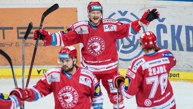 I třinecký útočník Vladimír Dravecký má zkušenosti z Finska.