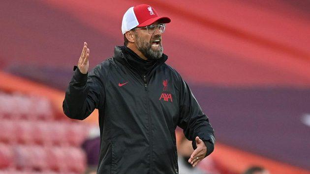 Trenér fotbalistů Liverpoolu Jürgen Klopp pochválil obhájce titulu za výkon. Na koho se zlobil?