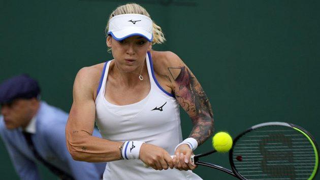 Tereza Martincová na Wimbledonu.