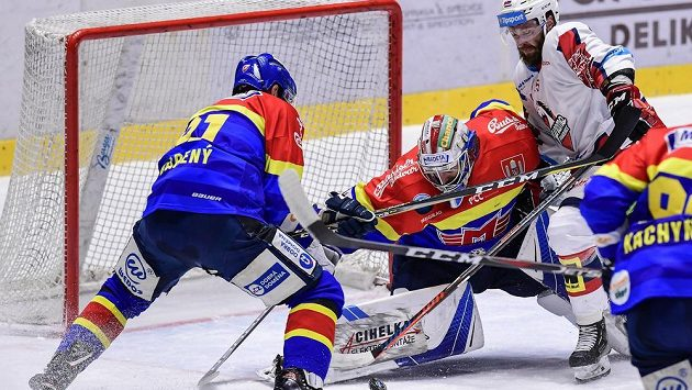 Hokejisté Českých Budějovic si poradili s Pardubicemi (archivní foto)